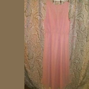Lauren Conrad Sheer Flowing Dress size 12 NWT